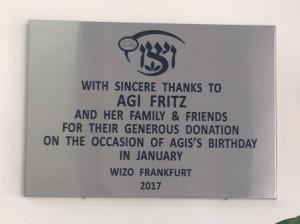 Agi Fritz in Pardes Hana (30.04.2017)