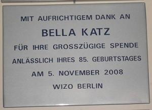 Bella Katz 2008 Herzliah