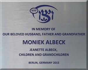 Jeanette Albeck 2015 Neve Yaakov