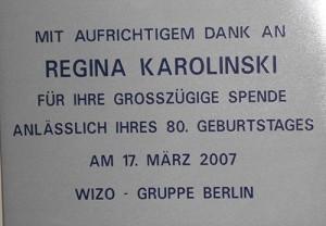 Regina Karolinski 2007 Herzliah
