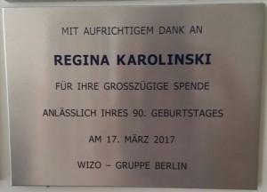 Regina karolinski 2017 Herzliah