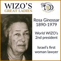 Great Ladies Vera Weitzman