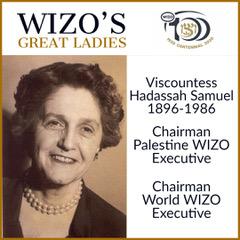 Great Ladies Viscountess Hadassah Samuel