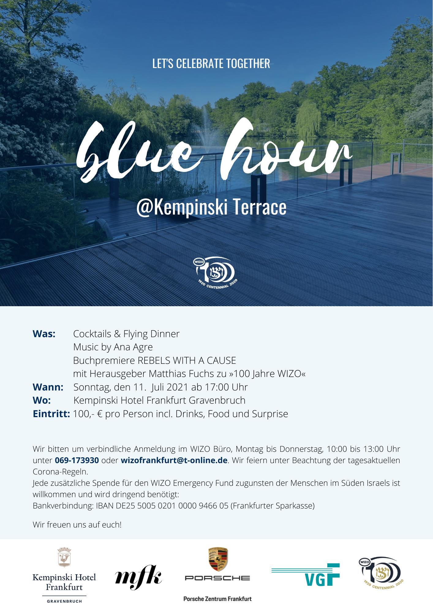 Einladung BlueHour@Kempinski
