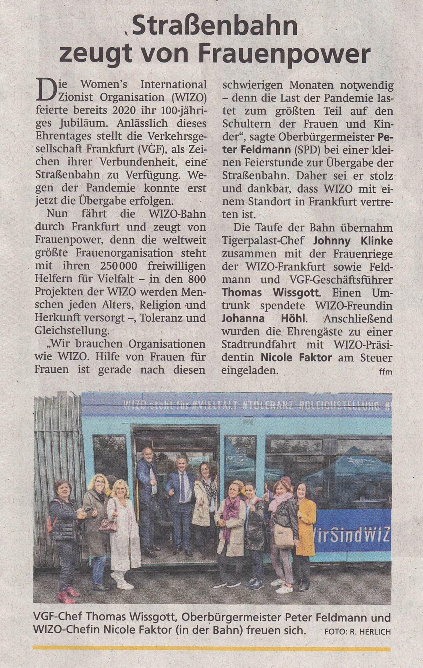 Frankfurter Neue Presse vom 07.10.2021